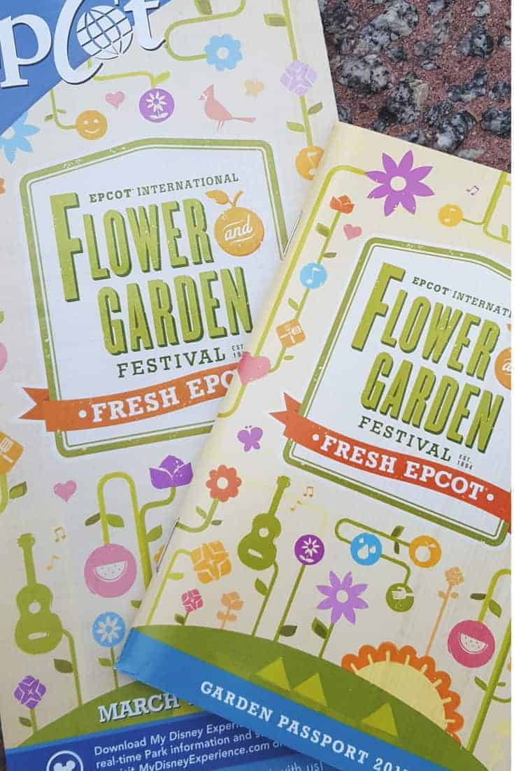 Planning a trip to Epcot this spring?Don't miss the Epcot International Flower & Garden Festival. Be sure to pick up a Passport! #disney #epcot