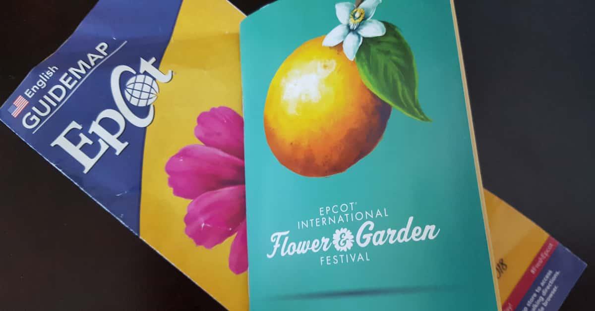 Free Epcot Flower & Garden Passport
