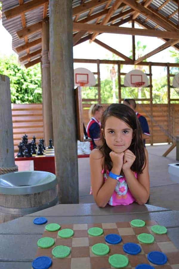 In Da Shade Games on Castaway Cay