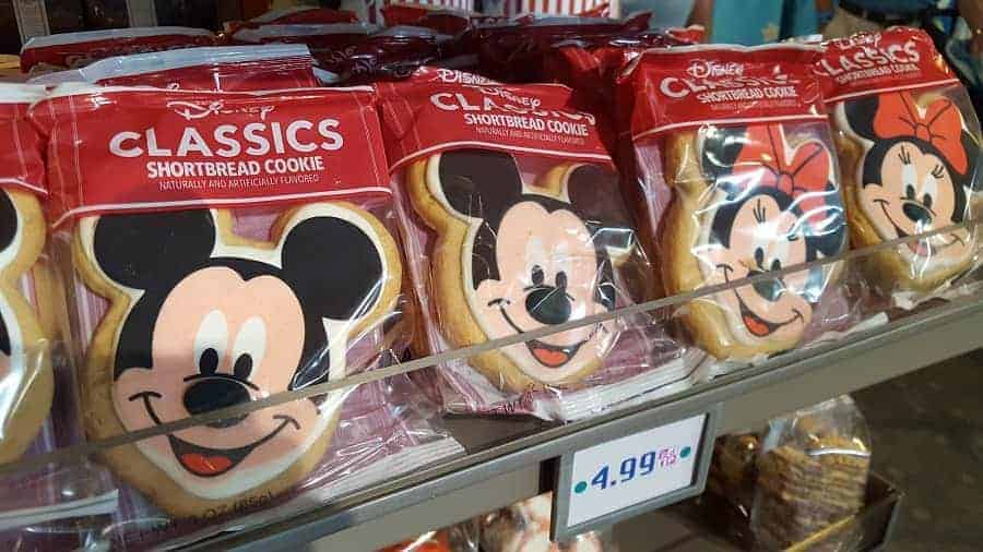 Mickey Mouse Face Shortbread Cookies