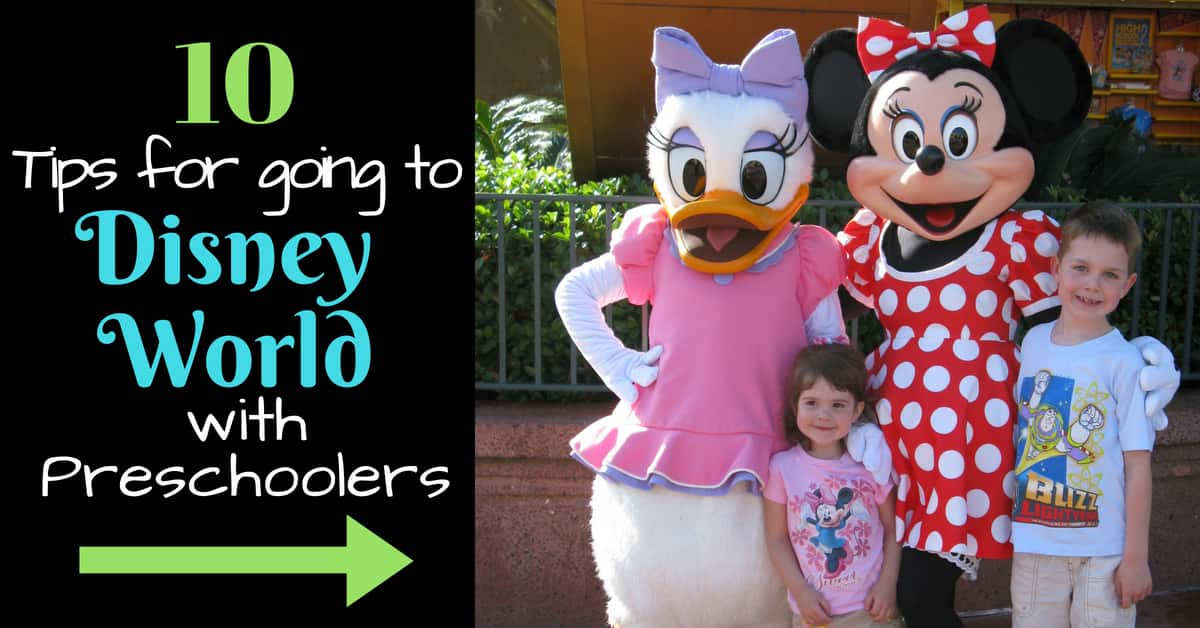 Travelling with Preschoolers to Disney