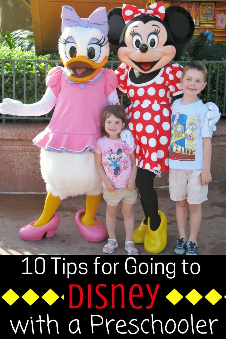 Tips for Going to Disney World with Toddlers & Preschoolers