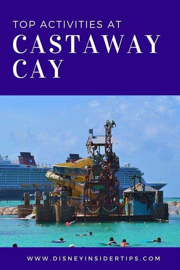 Top 10 Disney's Castaway Cay Activities