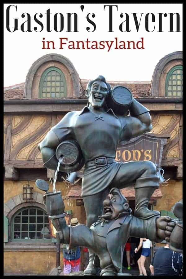 What You can find on Gaston's Tavern Menu