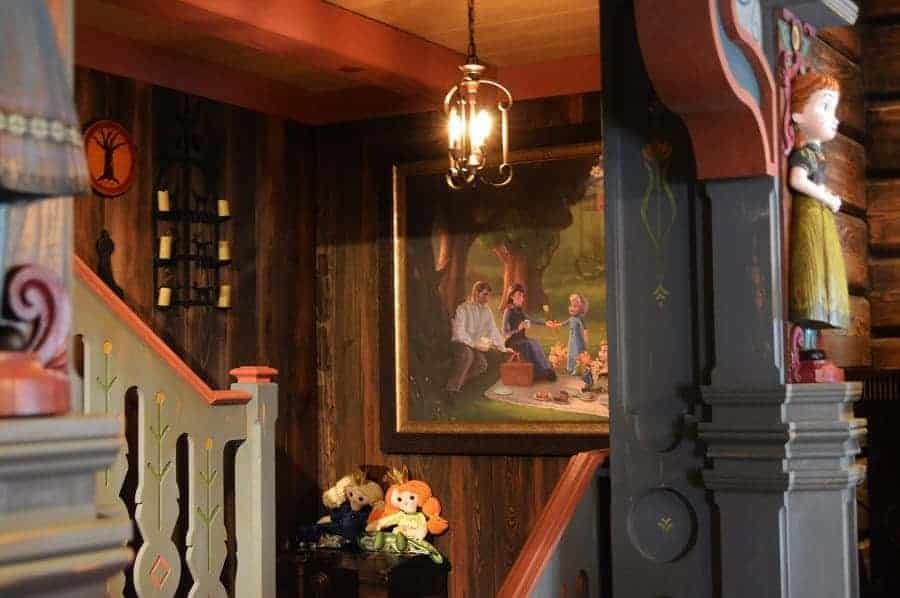 Interior Anna & Elsa's House