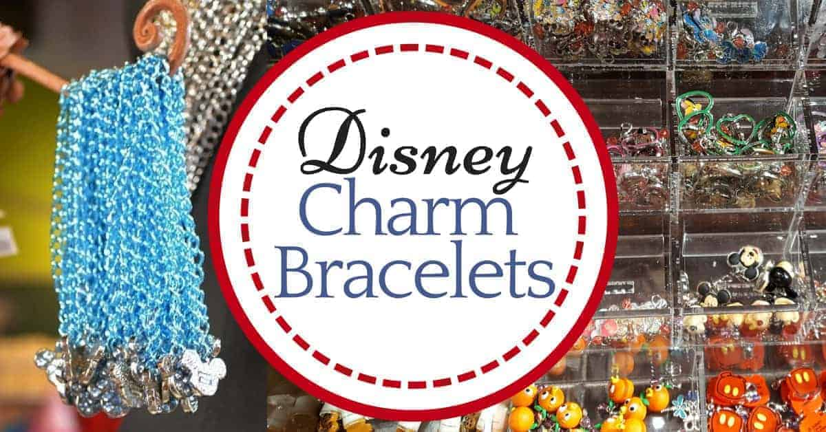 Disney Charm Bracelet Souvenirs are great gifts