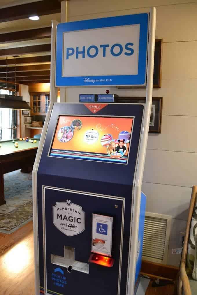 PHoto Machine at Hilton Head Resort