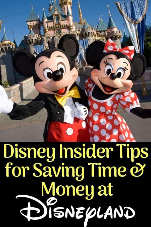 Disneyland Tips for Saving Money & Time