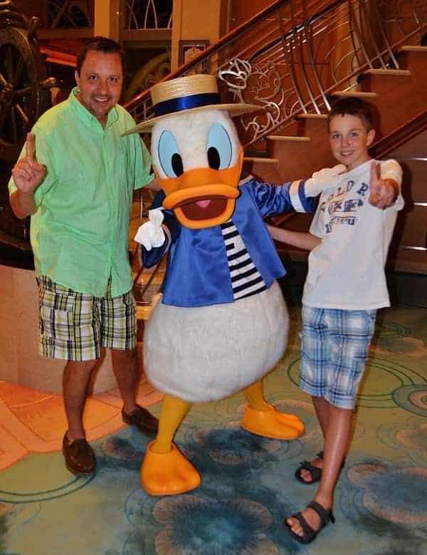 Donald Duck Italian Costume