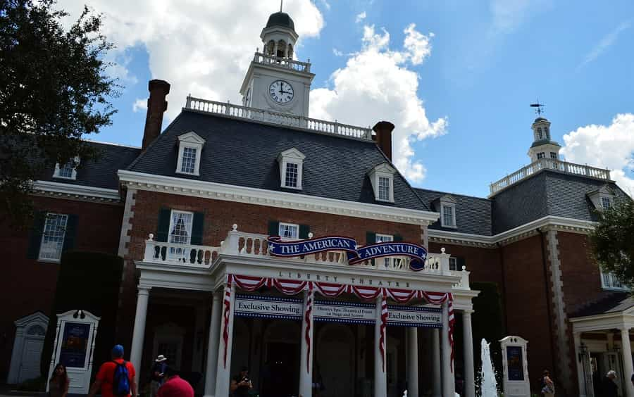 American Pavilion in Epcot