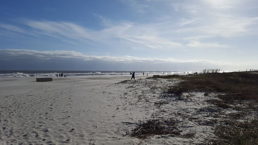 Hilton Head Beach in South Carolina