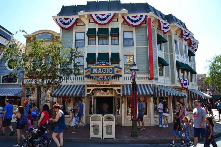 Main Street USA Disneyland