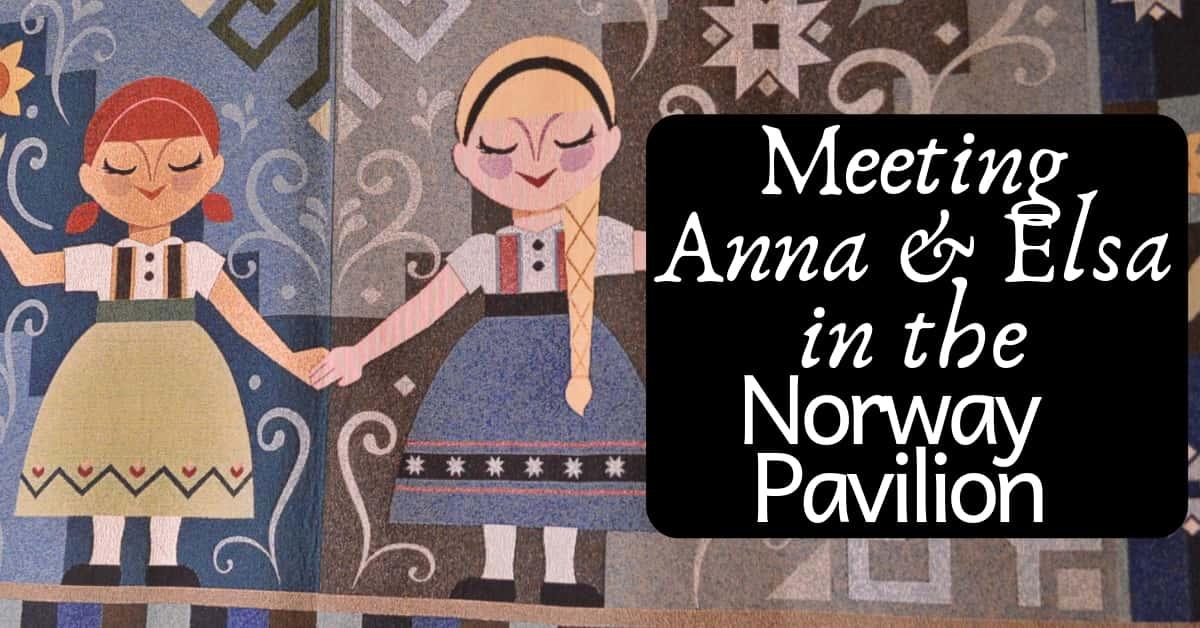 Where to Meet Anna & Elsa
