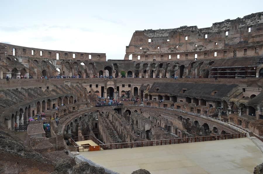 Roman Colloseum Interior