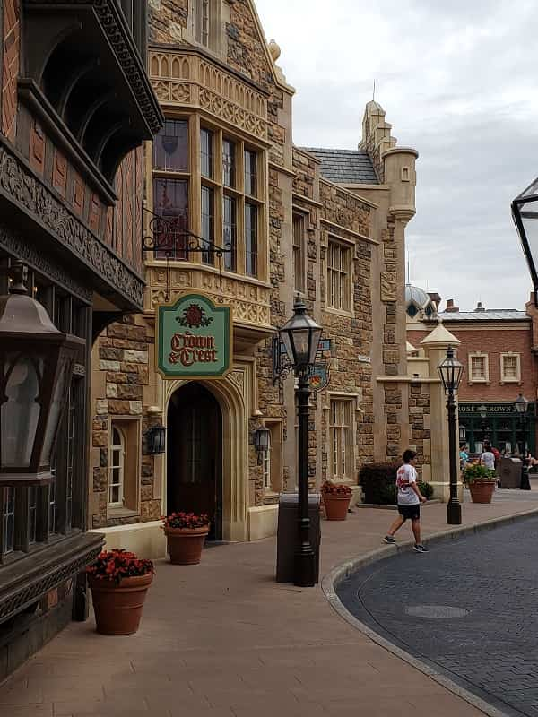 UK Pavilion in the World Showcase