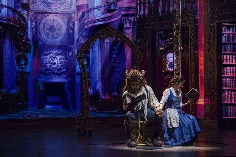 Beauty & the Beast on Disney Dream