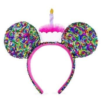 Birthday Minnie Mouse Ears