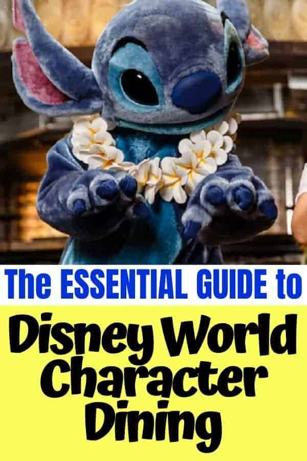 The Guide to Disney World Character Dining
