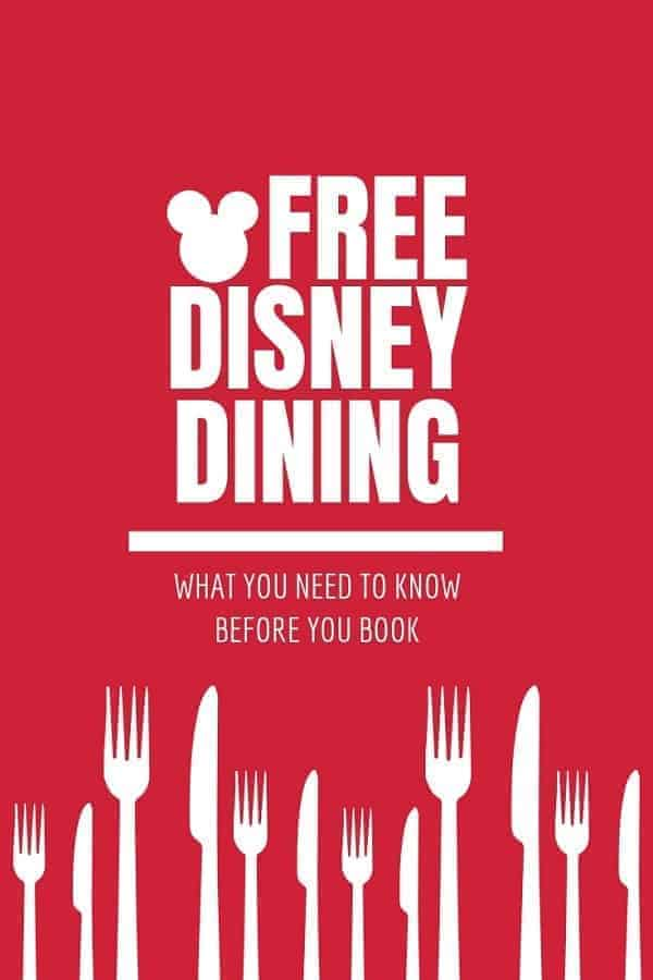 Free Disney Dining Offer