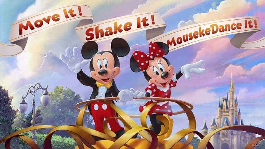 Move It Shake it Disney Party