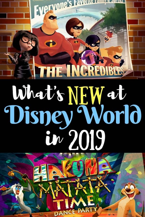 What's Coming to Disney World in 2019