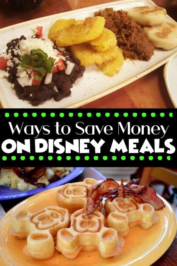 Ways to Save Money on Disney Meals