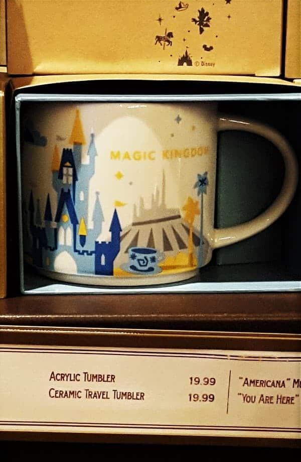 Magic Kingdom Starbucks Mug