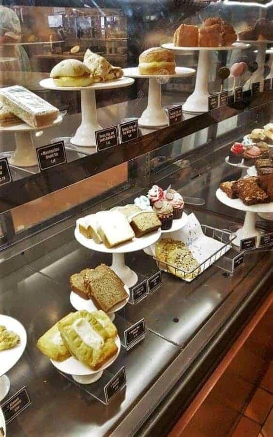 Food at Starbucks in Magic Kingdom