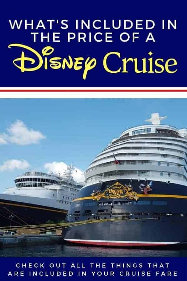 What's Included in the Price of a Disney Cruise