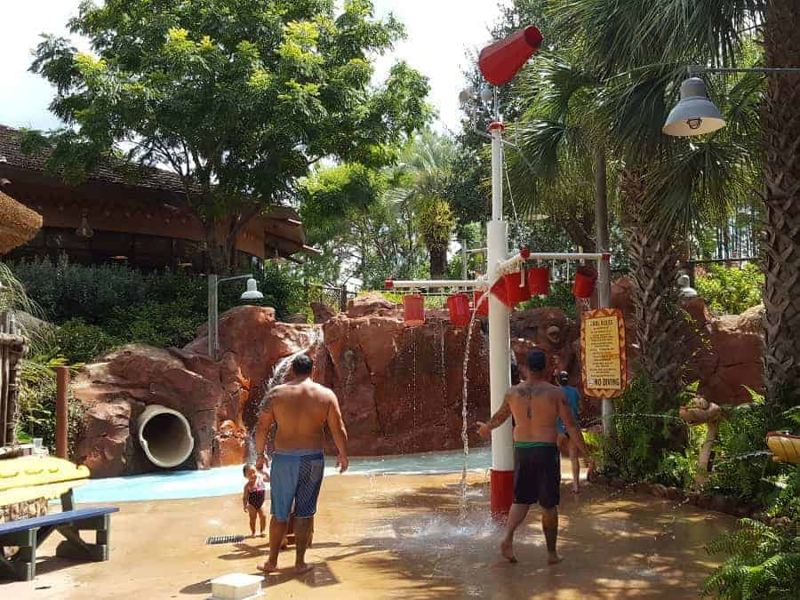 Animal Kingdom Kidani Village Water play area
