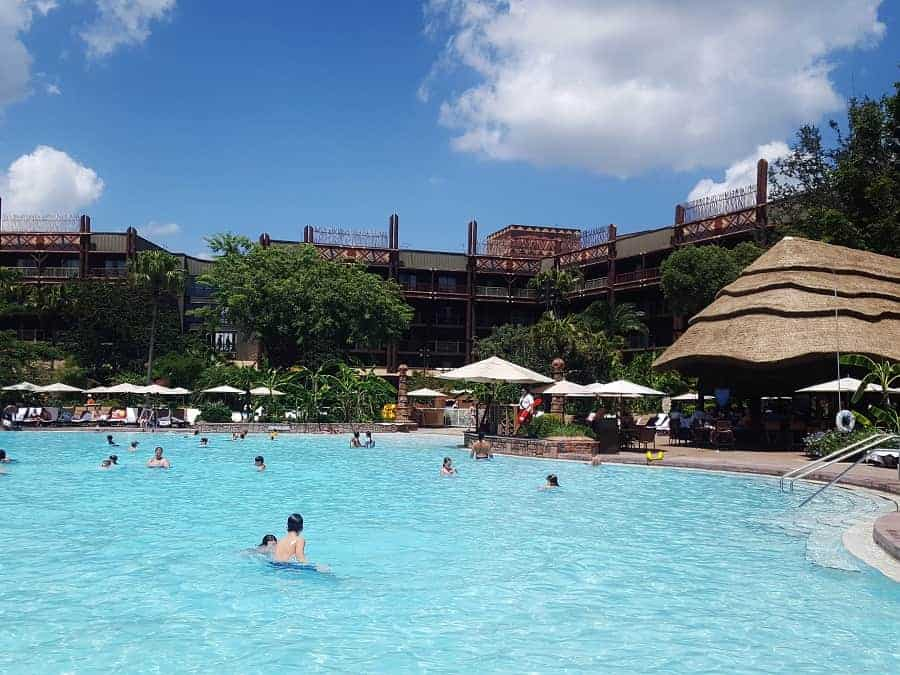 uzima pool at Animal Kingdom Lodge