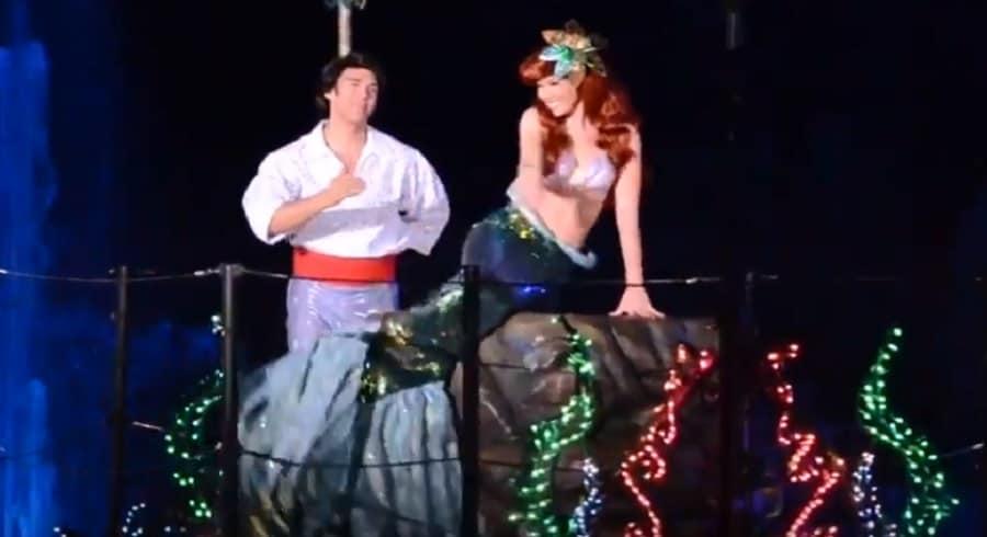 Ariel & Eric in Fantasmic!