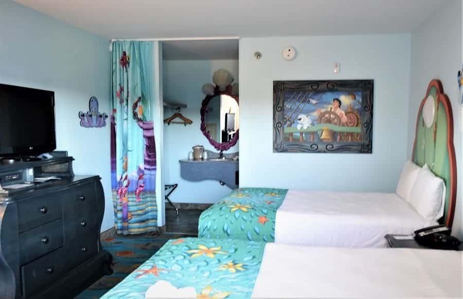 Art of Animation Resort: Little Mermaid Rooms