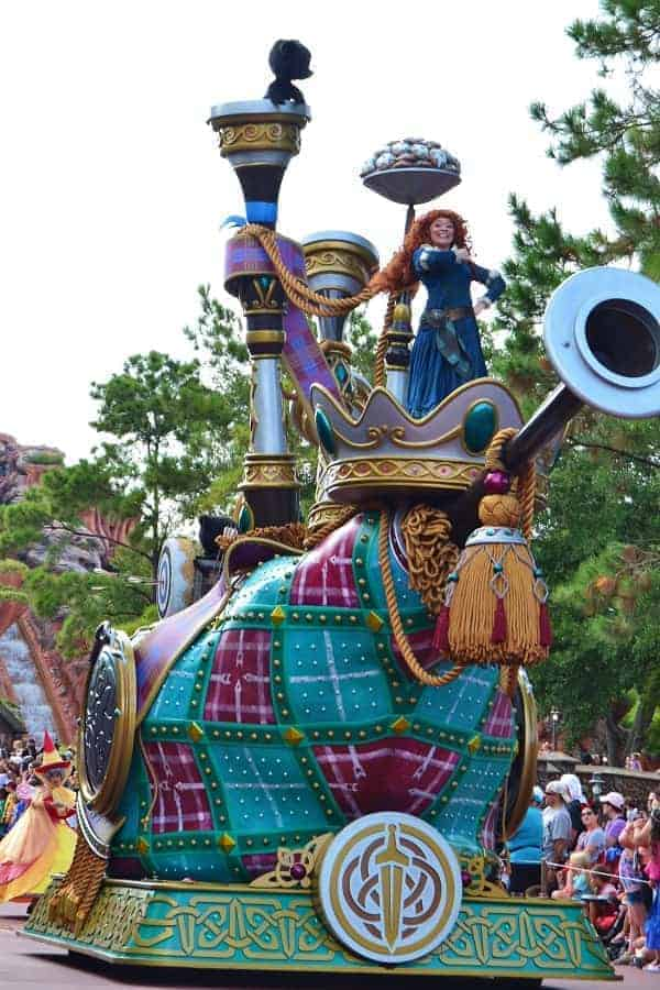 Brave Float at Disney World