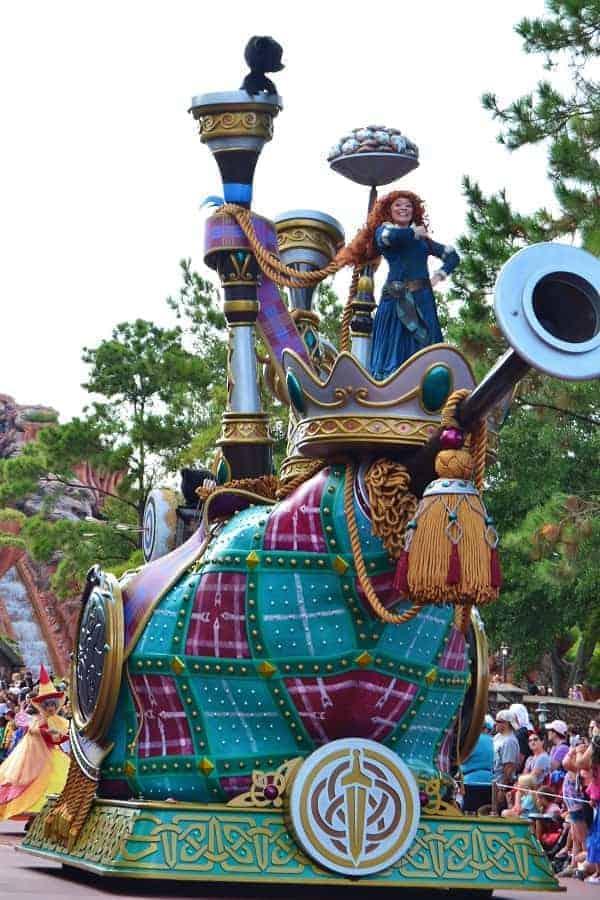Brave Float at Disney World