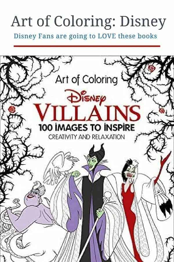 Disney Coloring Books for Teens & Adults