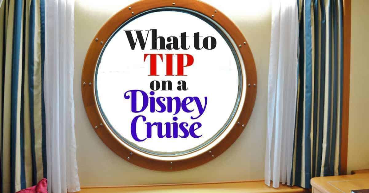 Tipping on a Disney Cruise