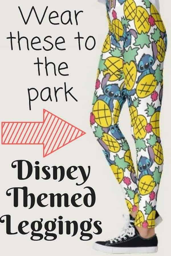 Check out these Disney Themed Leggings