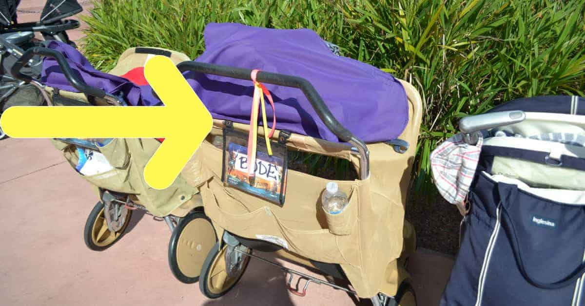 How to Find your stroller at Disney