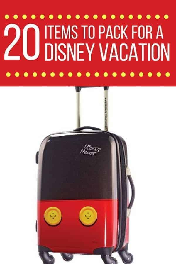 Disney World Packing List (20 Items to Bring)