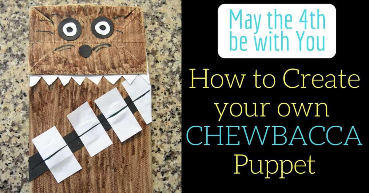 Making a Chewbacca Puppet