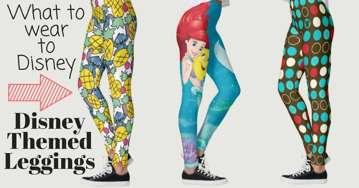 Disney Themed Leggings