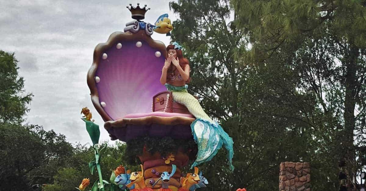 Ariel in Disney