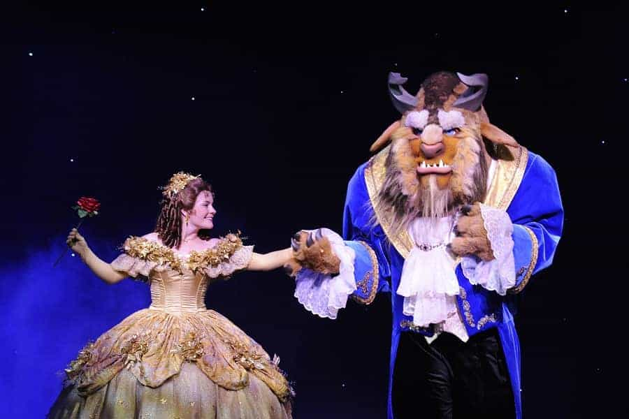 Disney Beauty & The Beast on Disney Dream