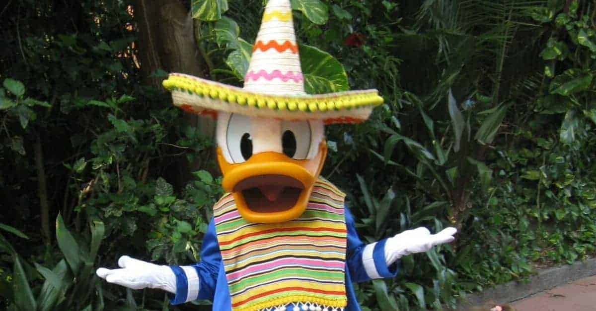 Where are Disney Characters in Epcot?