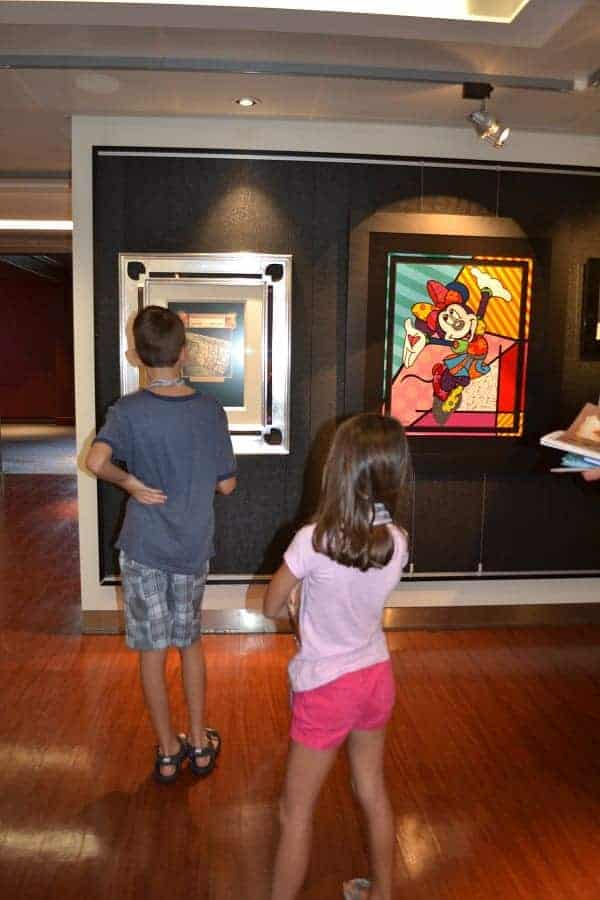 Art comes alive with Mickey's Midship Detective Agency