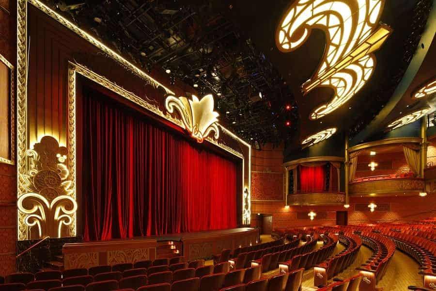 Walt Disney Theater on Disney Dream