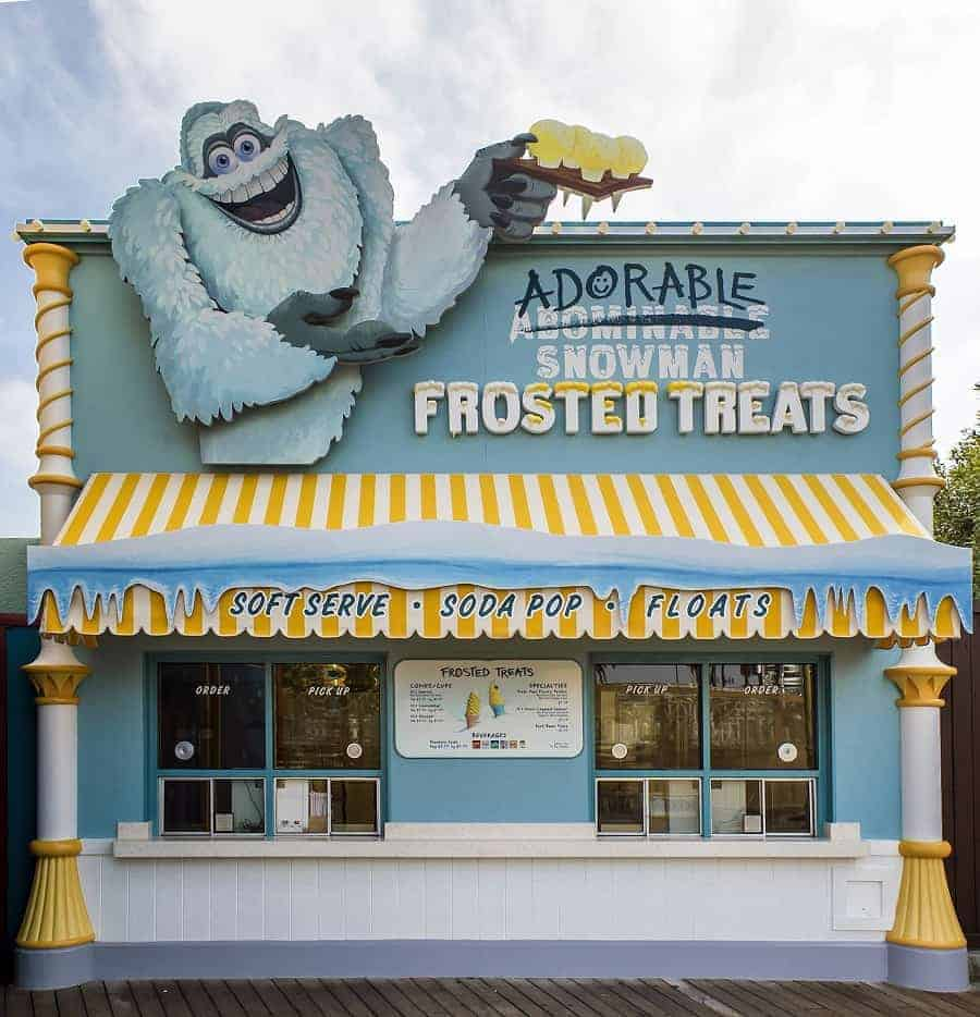 Snowman Frosted Treats