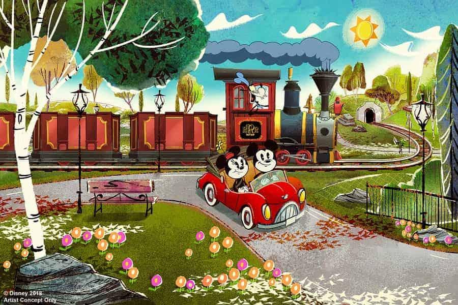 Mickey & Minnies Runaway Railway