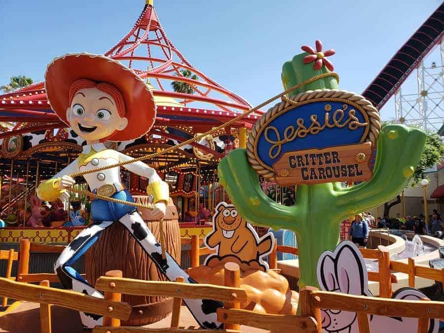 Disneyland Critter Carousel